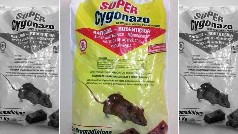 Veneno Ratas En Cebo Super Cygonazo Por 1 Kg.