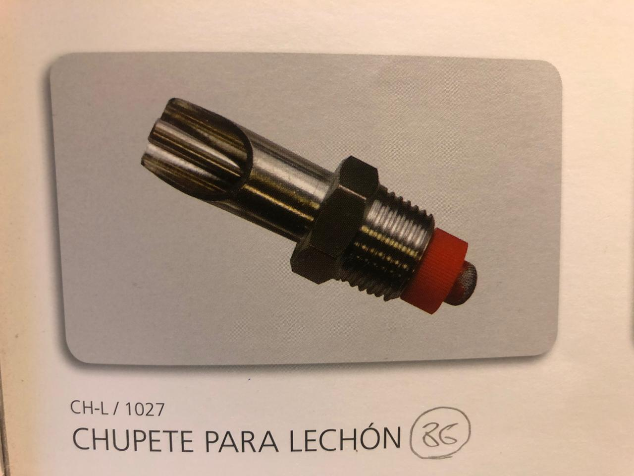Termoplast Chupete Lechon 1027