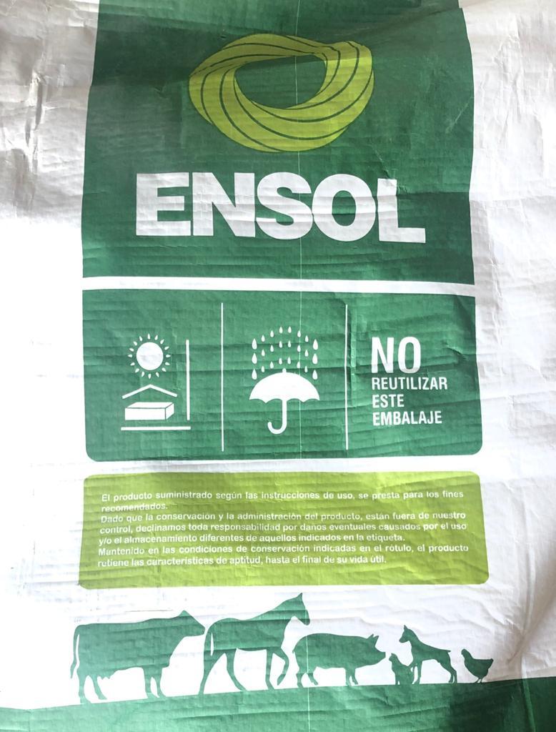 Ensoltox  Secuestrante Por 25 Kg.