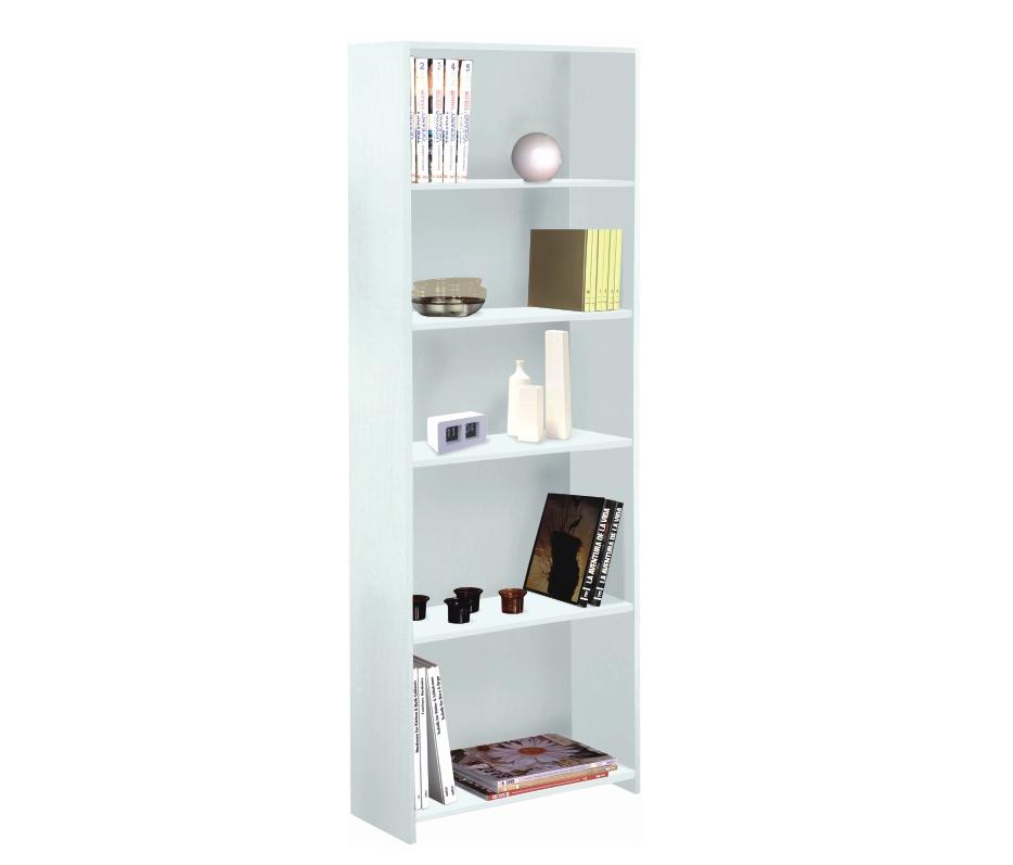 Librero Eco 5 espacios Blanco