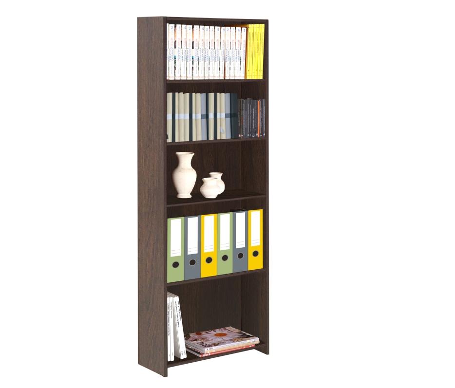 Librero Eco 5 espacios Tabaco