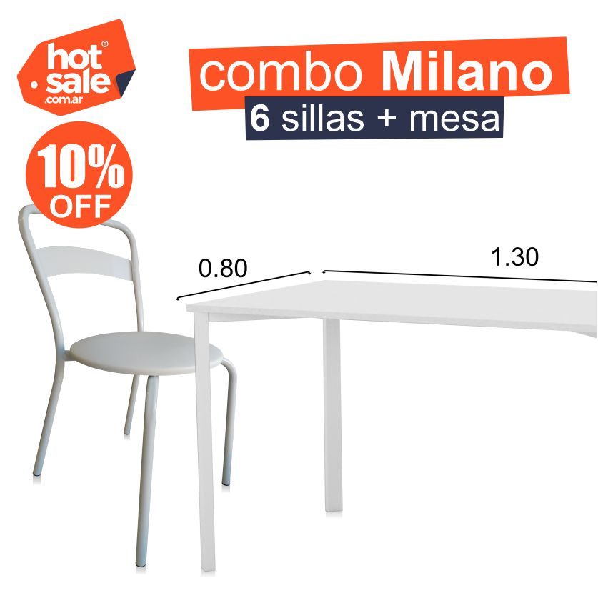 Combo Milano Blanco