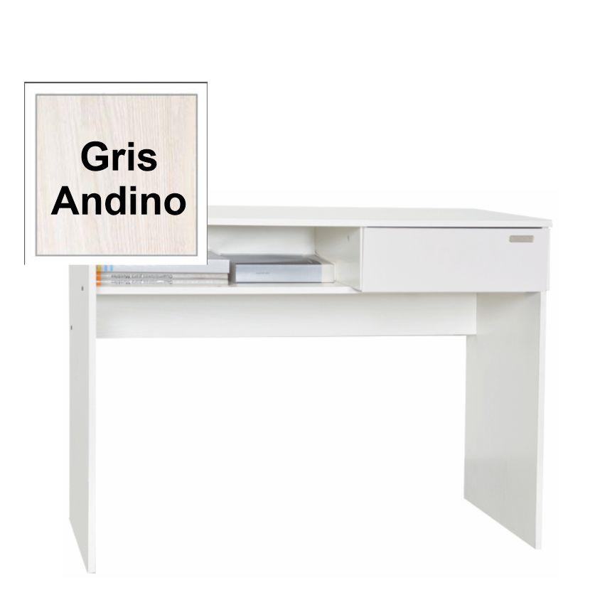 Escritorio Juvenil Gris Andino