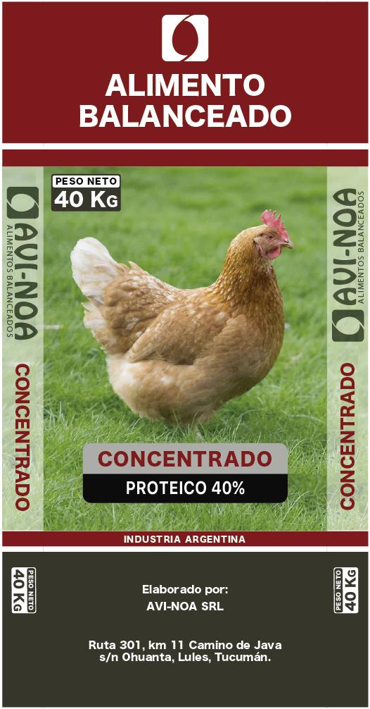Concentrado Proteico Ponedoras 40%