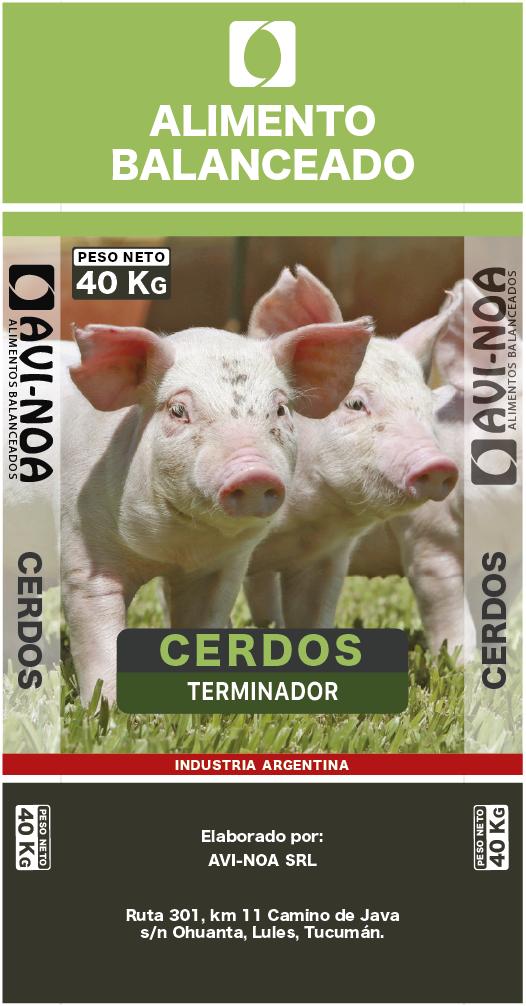 Alimento Cerdo Terminador