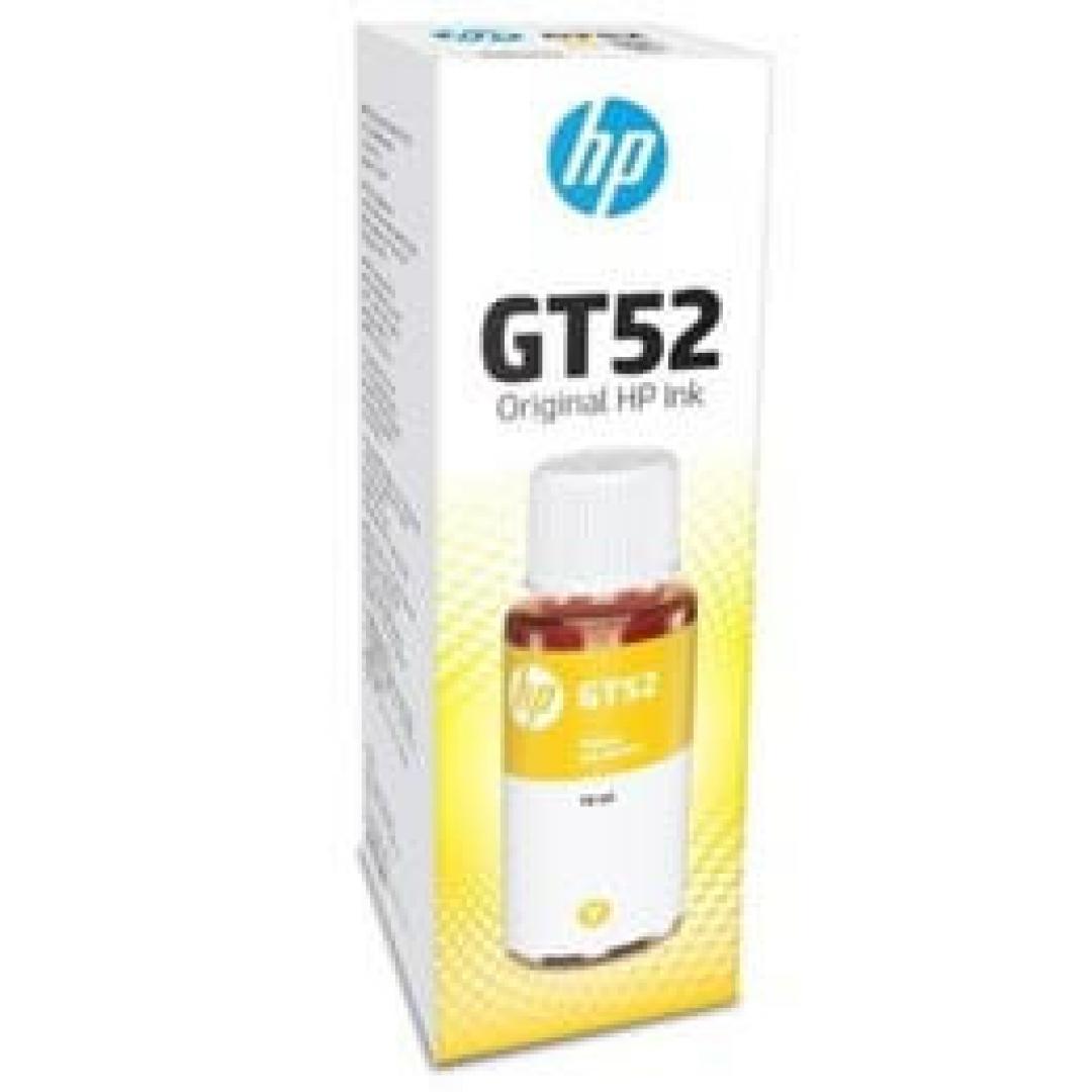 Botella de Tinta HP GT52 Amarillo