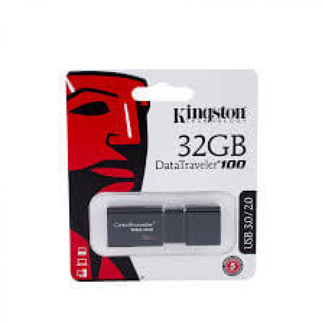 KINGSTON 32GB 3.1 DT100G3 (NEGRO)