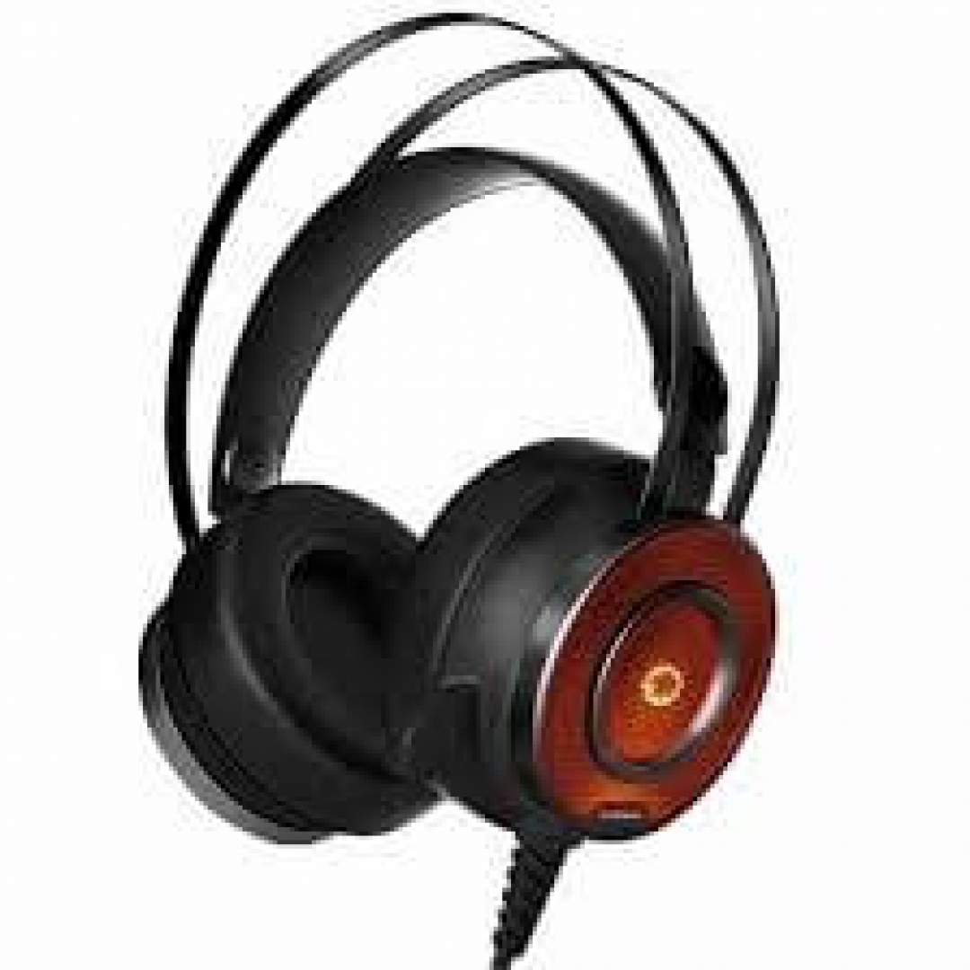 AURICULARES GAMEMAX G200 LED y Mic Pc