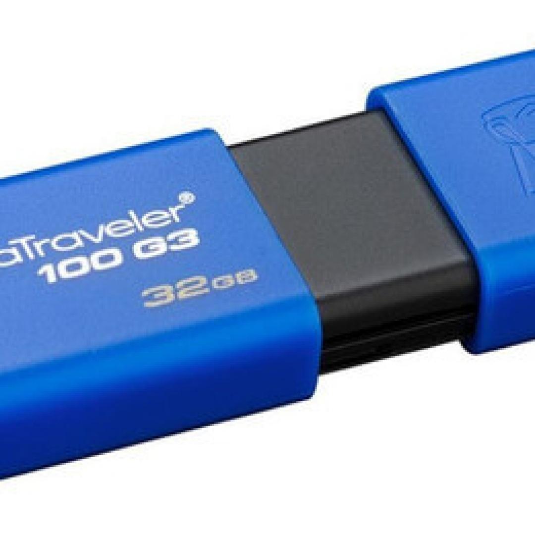 KINGSTON 32GB 3.1 DT100G3 (AZUL)