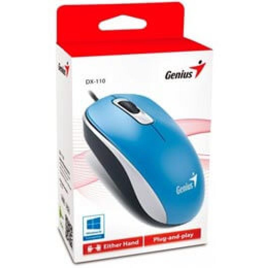 Mouse GENIUS DX 110 USB Blue