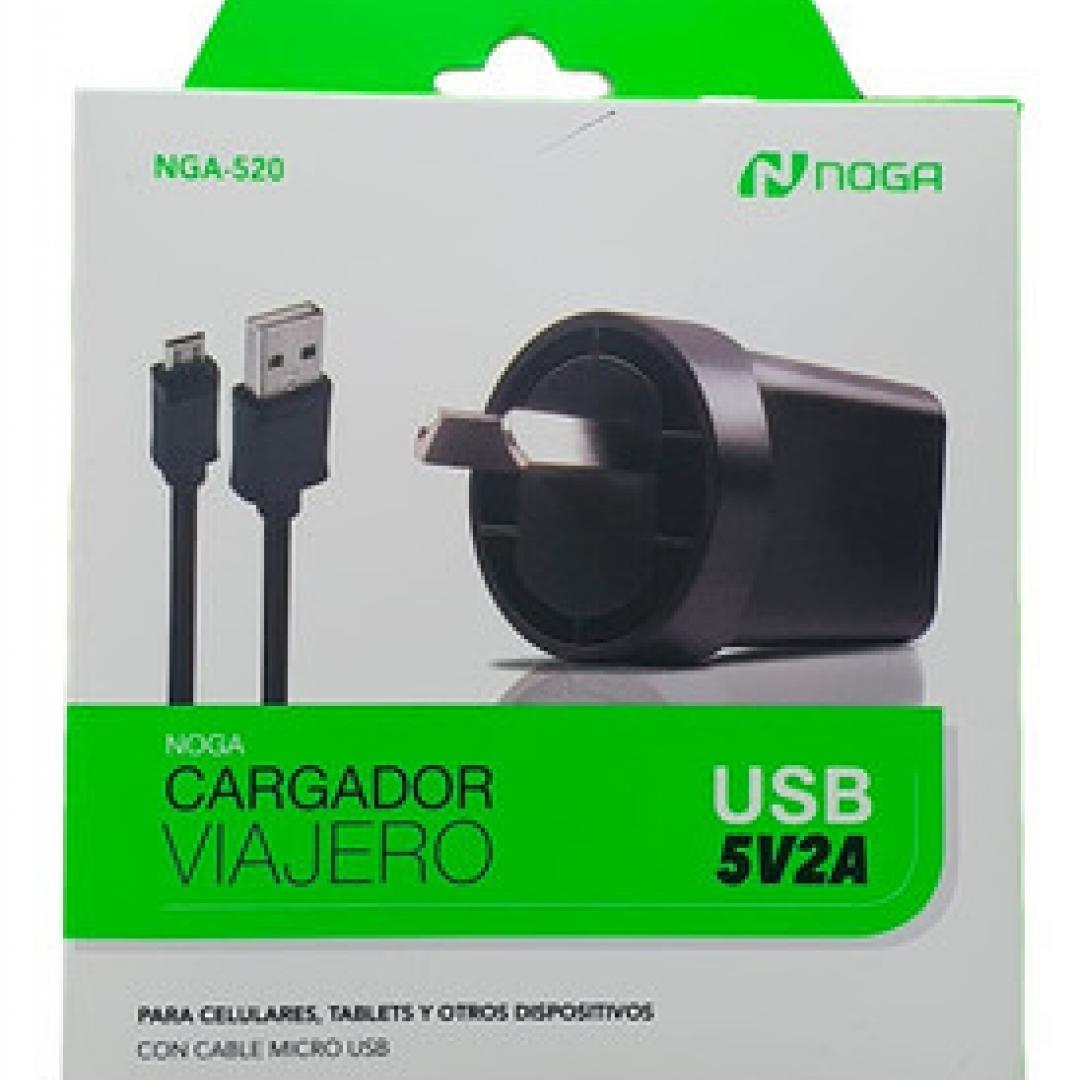 Cargador NOGA VIAJERO USB 5V2A