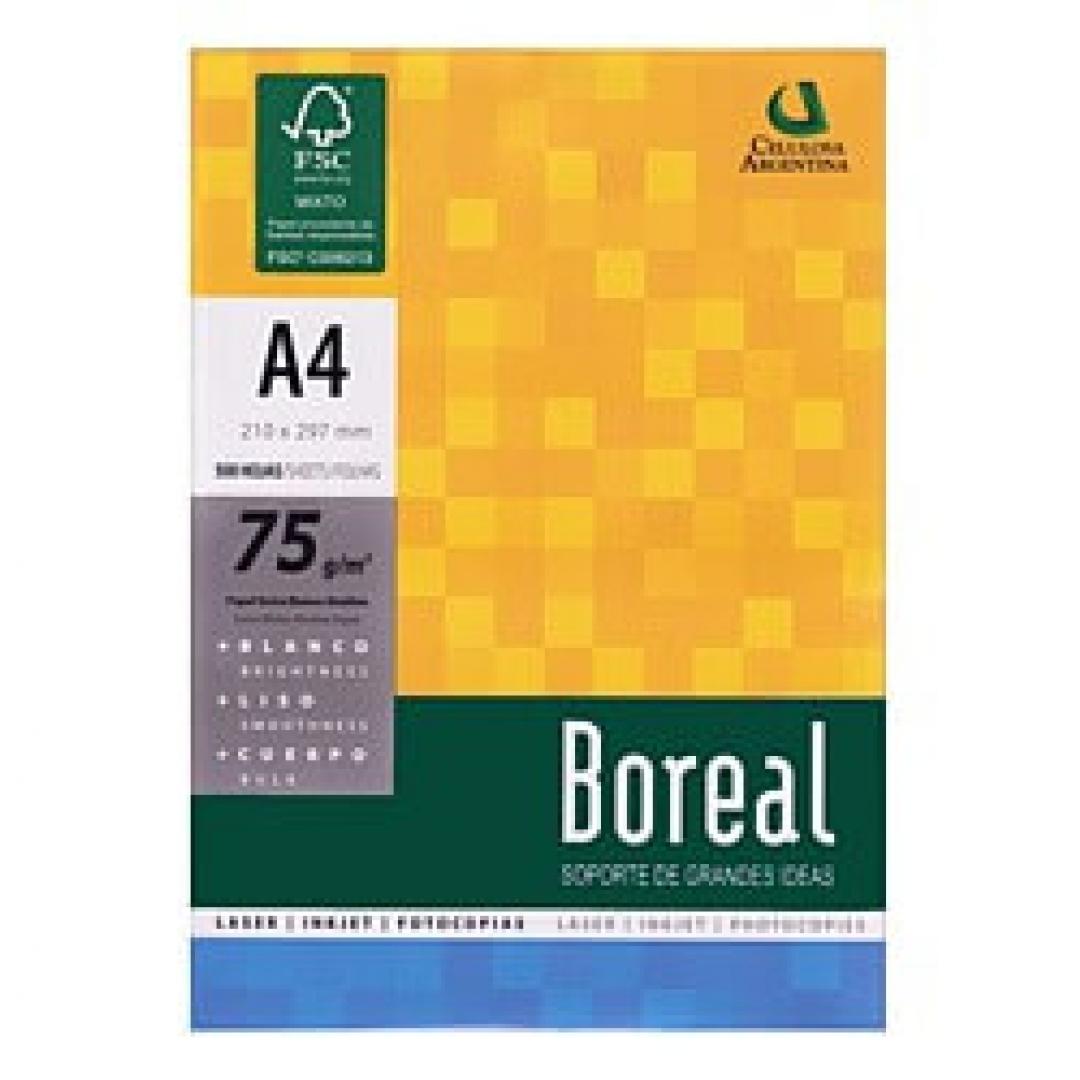 Resma BOREAL 75Gr A4