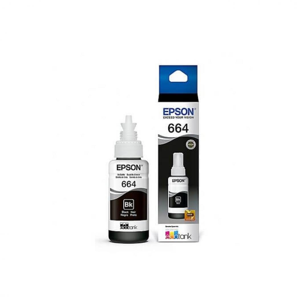 Botella Epson T664120-AL (Negro)