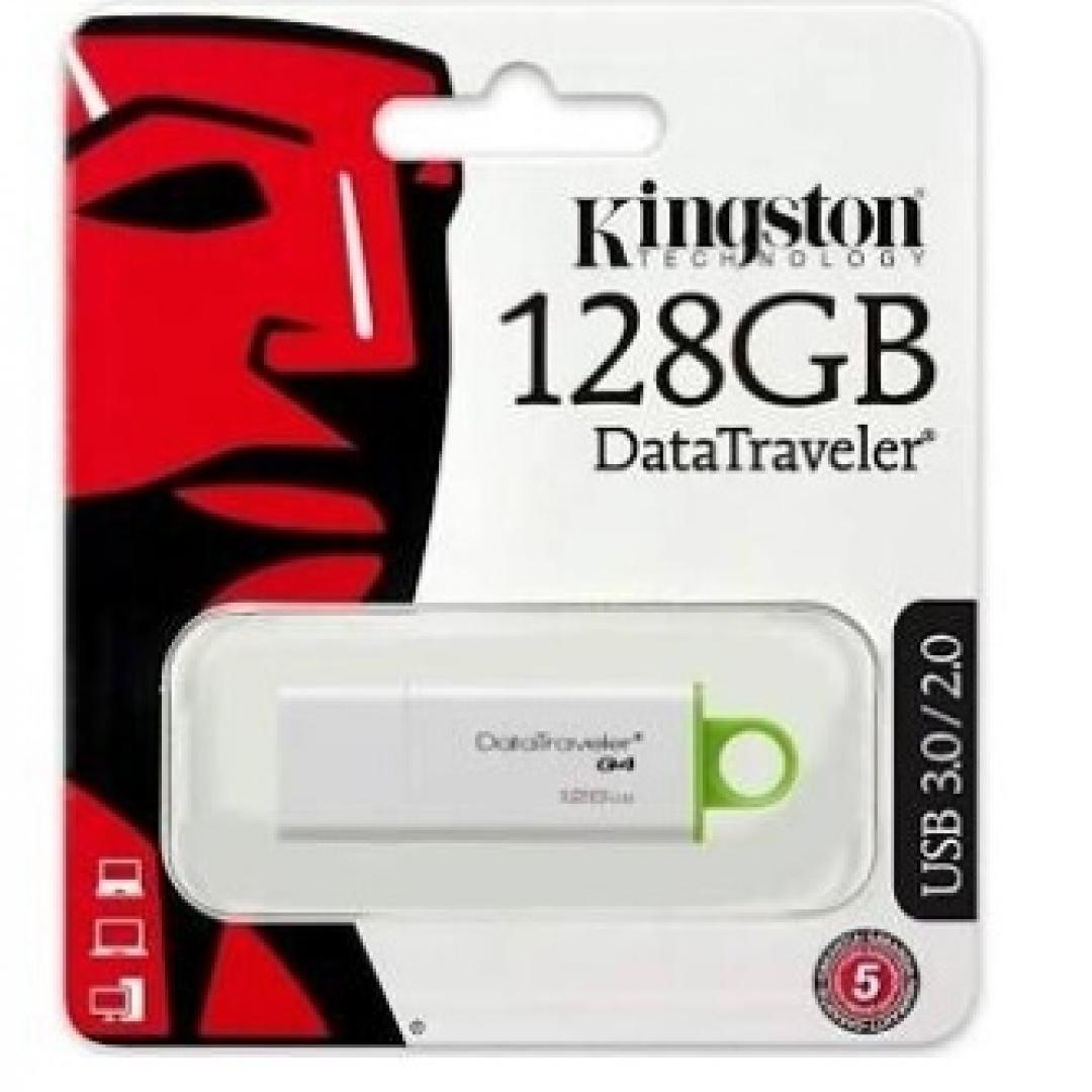 KINGSTON 128GB 3.1 DTIG4 (BLANCO y VERDE)