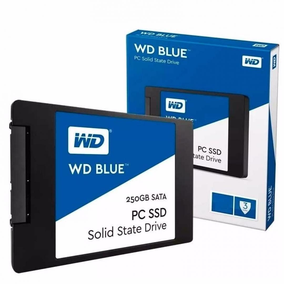 WD Disco Rigido Solido 250Gb Blue