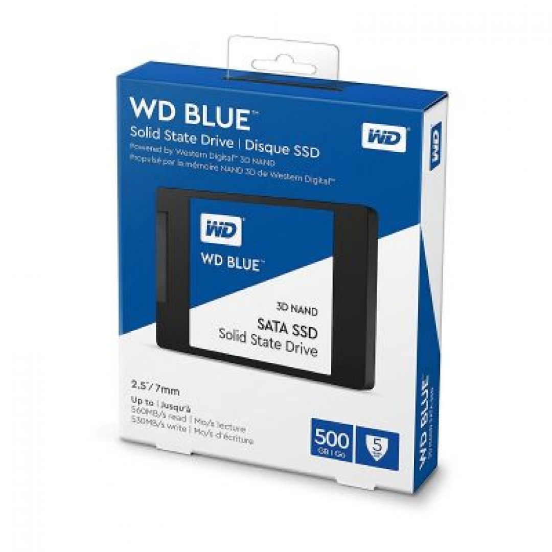 WD Disco Rígido Solido 500Gb Blue