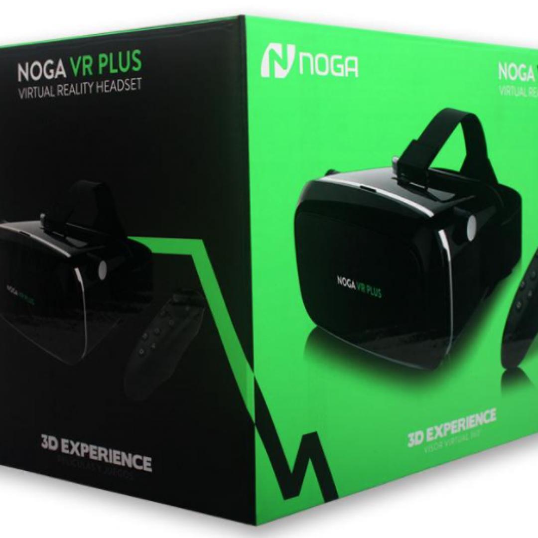 Anteojo NOGA VR PLUS con control Remoto